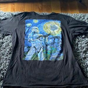 Star Wars Van Gogh Top